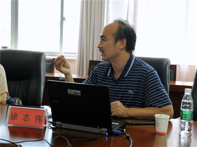 市教研室教科研中心徐志伟主任开设语文教学专题讲座