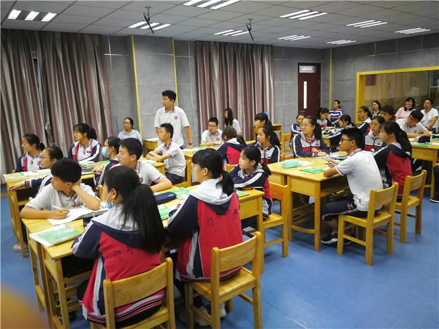 建邺区第五盟区物理教研活动在我校举行